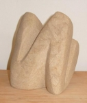 Leaning Figure sketch    (Sandstone 11x14x10cm)