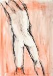 Back II   (charcoal, pastel)