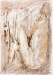 Sitting Woman III   (pastel, pencil, charcoal)