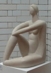 Decorative Figure II at Pelham House Lewes 2007