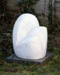Seated Figure   (marble  51x35x38cm)